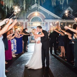 Real Wedding: Pretty pastels & rain showers in South Carolina
