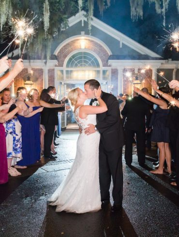 Real Wedding: Pretty pastels & rain showers in South Carolina
