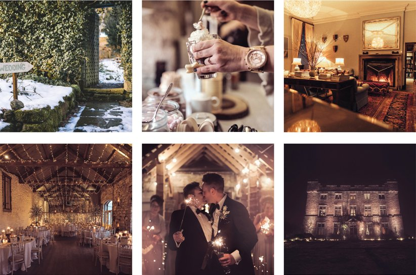 Magical Winter Weddings at Askham Hall