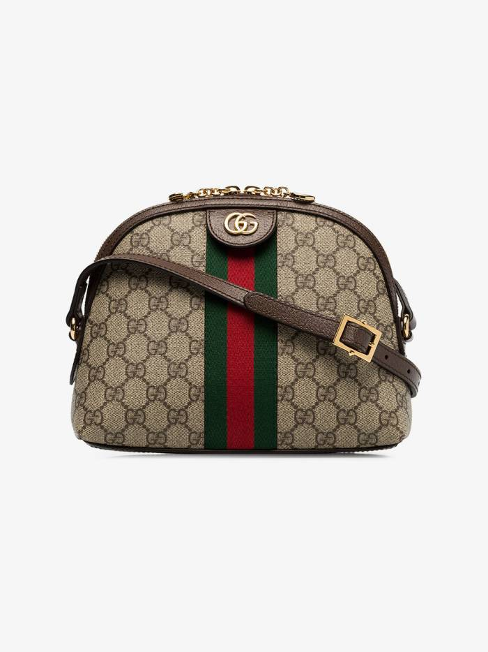 Gucci brown Ophidia small GG Supreme shoulder bag