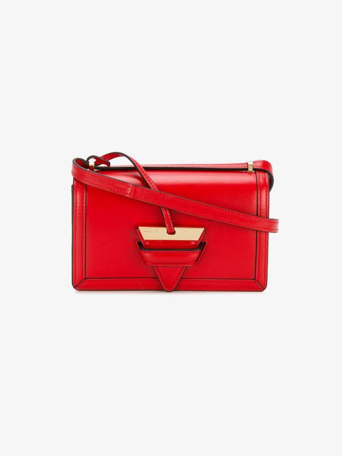 Loewe Red Barcelona leather shoulder bag