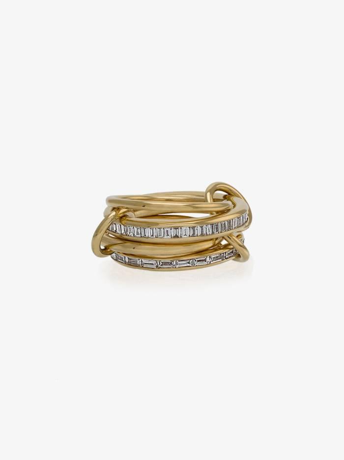 Spinelli Kilcollin 18k yellow gold Lehmus diamond ring