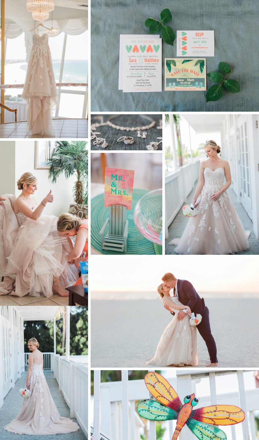 Real Wedding: Tropical colour on the beach | 5 STAR WEDDING BLOG