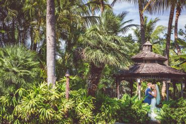 Real wedding: Caribbean vibes in Florida