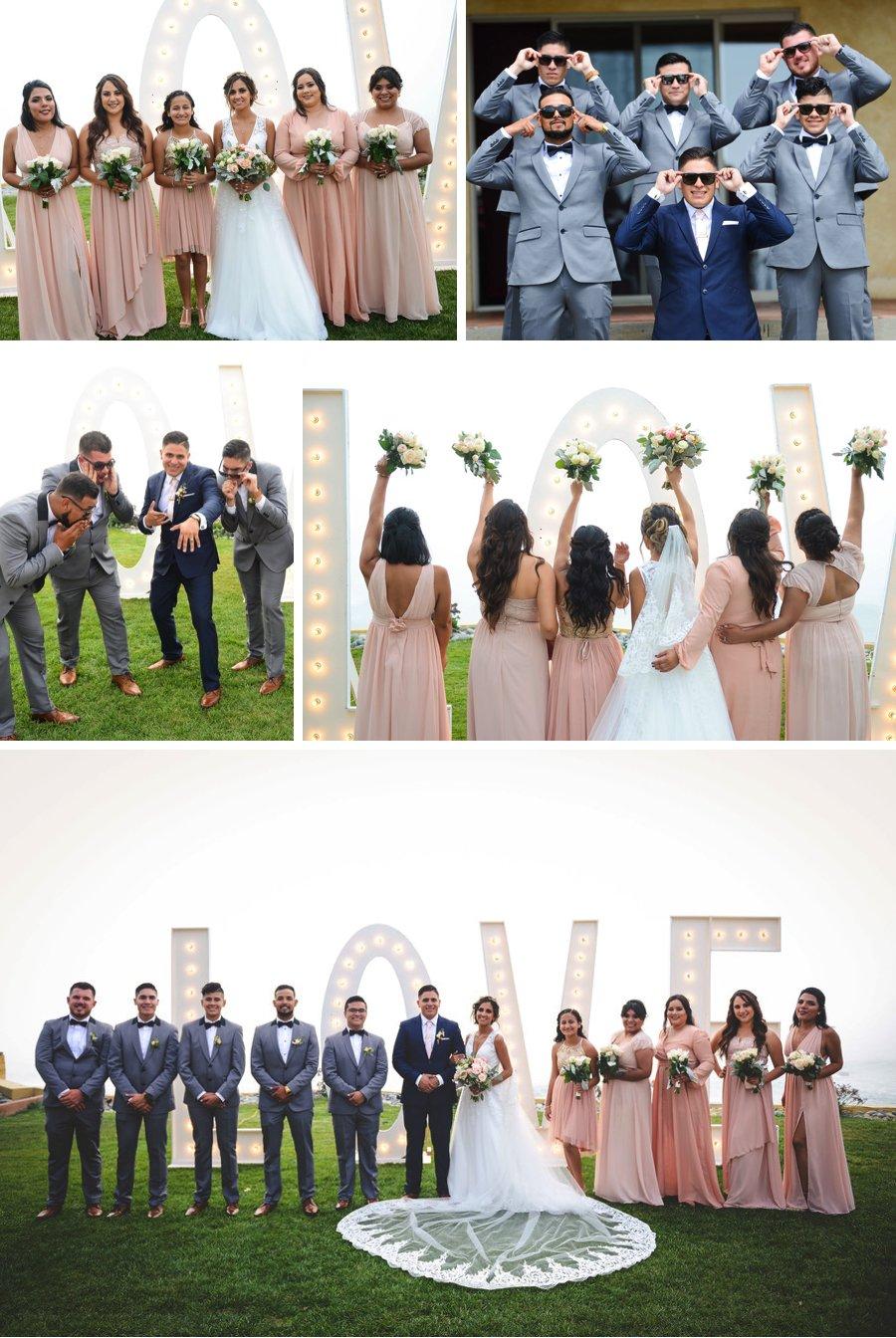 Real wedding: Roses in Rosarito Mexico