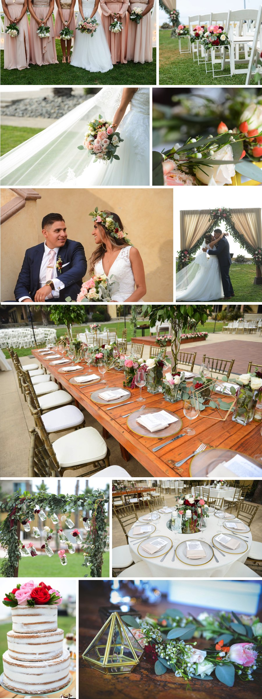 Real wedding: Roses in Rosarito Mexico