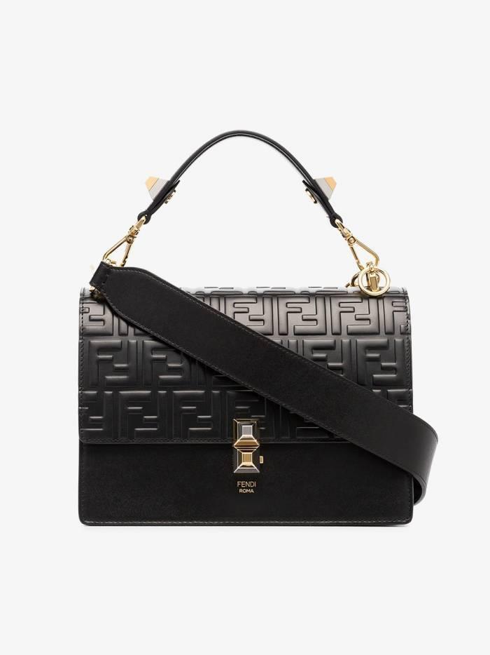 Fendi Kan I Double F Shoulder Bag