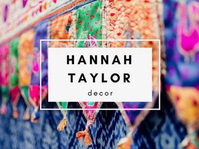 Hannah Taylor Wedding Stylist