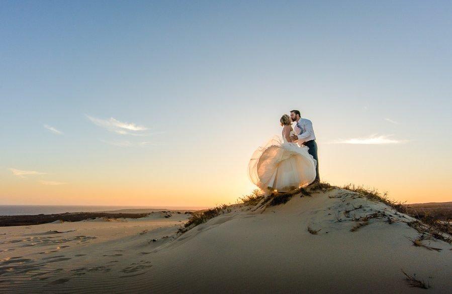 Real Wedding: One year beach remix