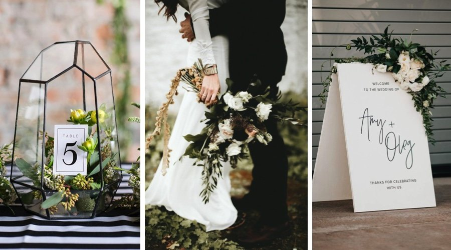 Colour palette: black & white