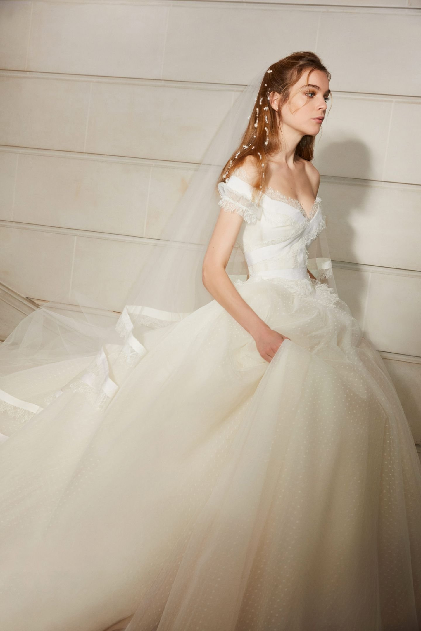 Dress Collection Elie Saab S Spring 2019 Bridal Collection 5