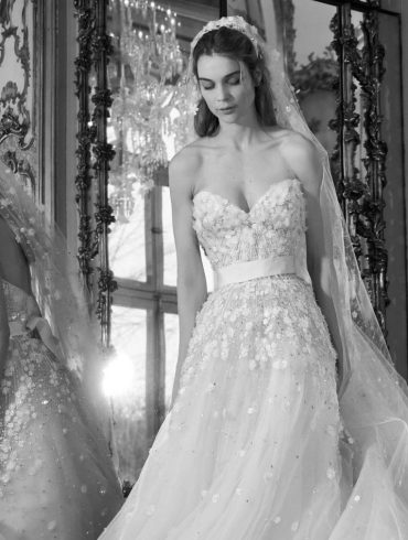 Dress collection: Elie Saab's spring 2019 bridal collection