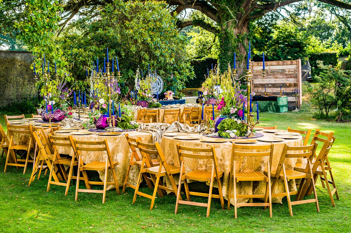 Style shoot: Opulent summer garden wedding