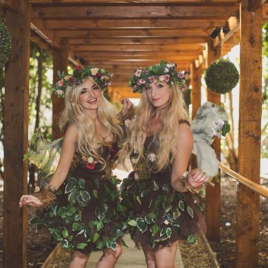 A magical evening at Hunton Park Hotel's secret garden party