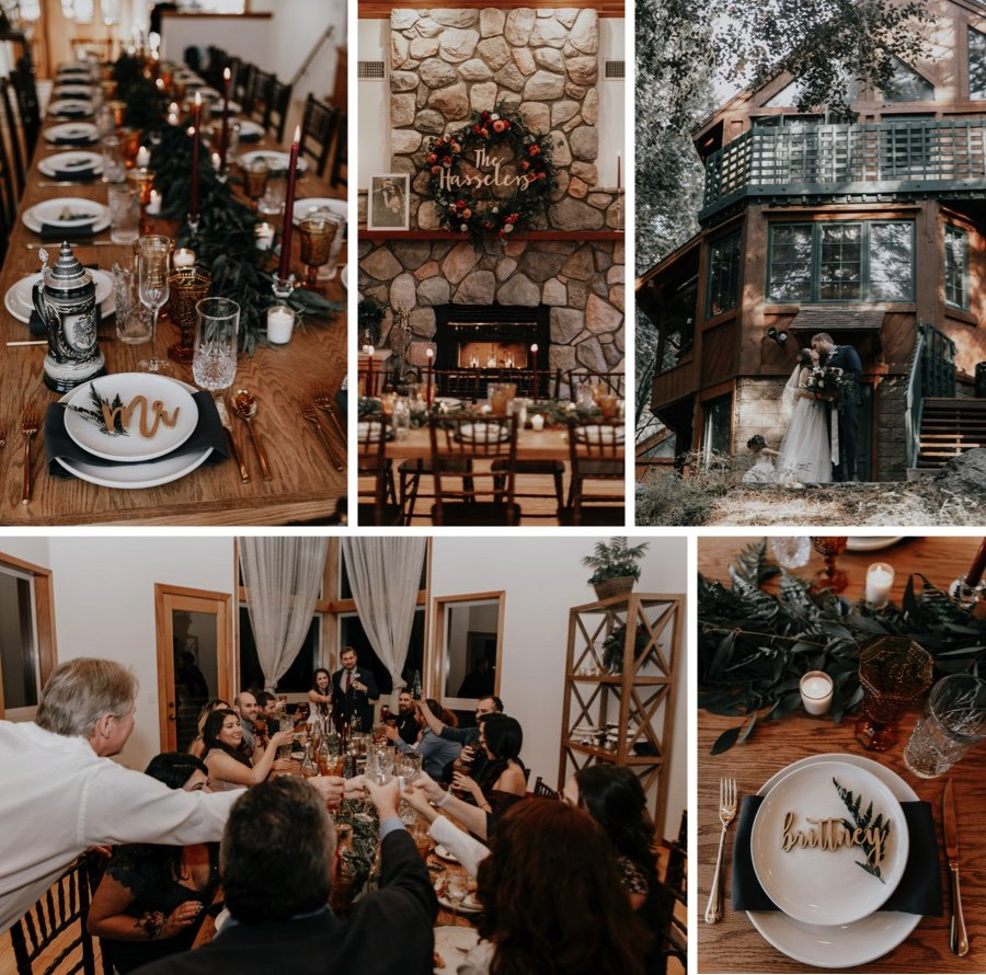 cabin wedding 2a