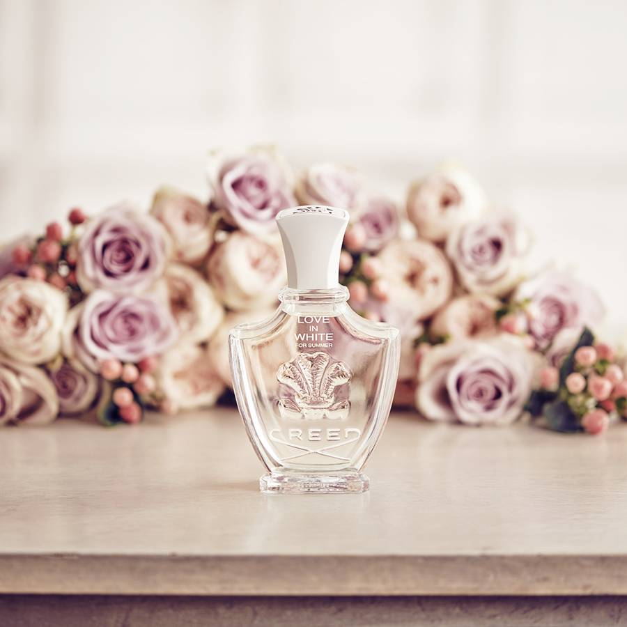 Beautiful bridal fragrances
