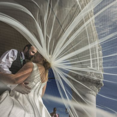 Real wedding: Scotland meets Venice