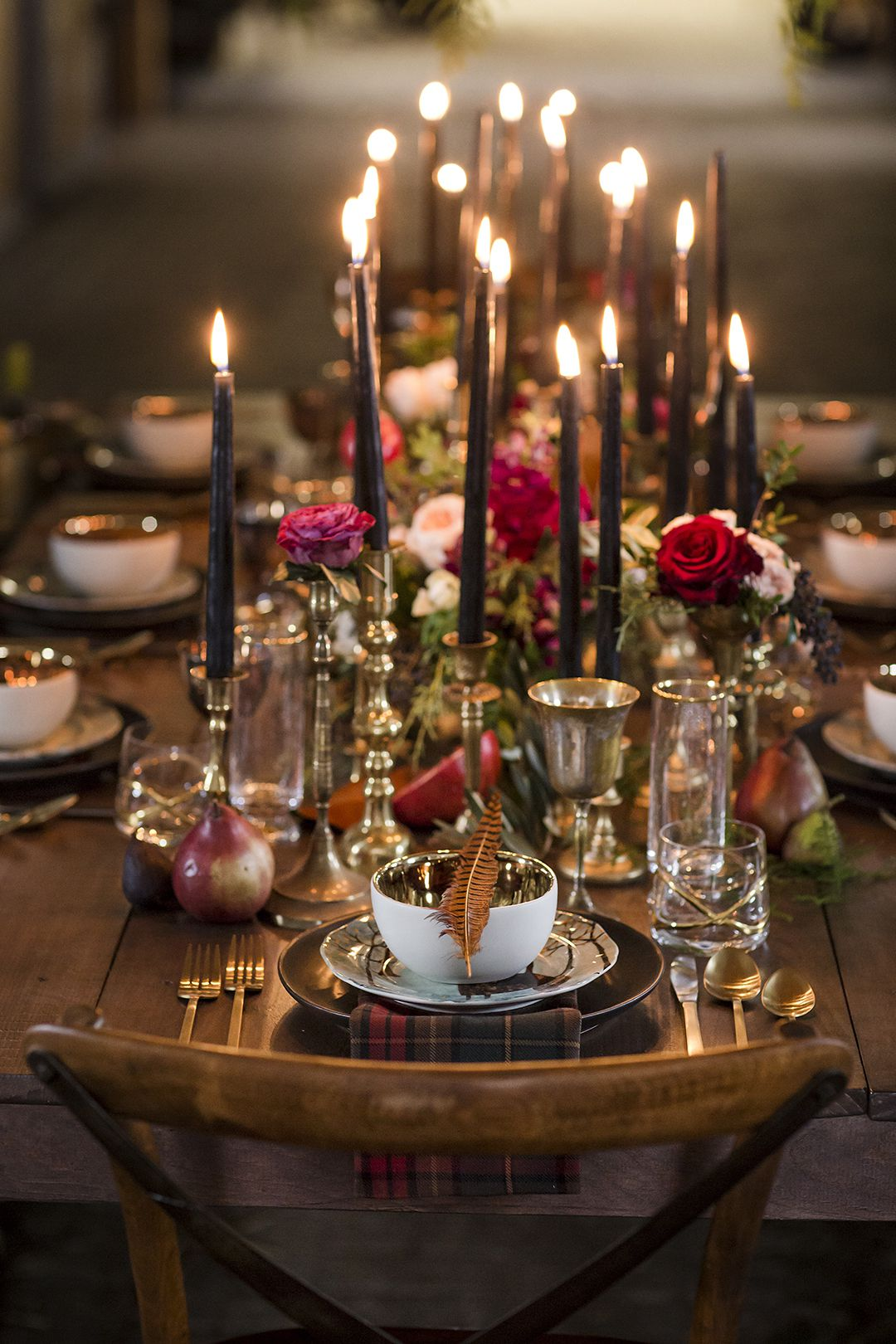 Five ideas for cosy autumnal tablescapes