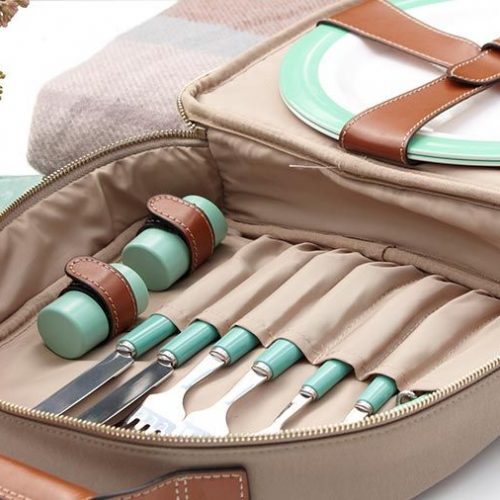Fortnum's 2 Person Canvas Picnic Carry All