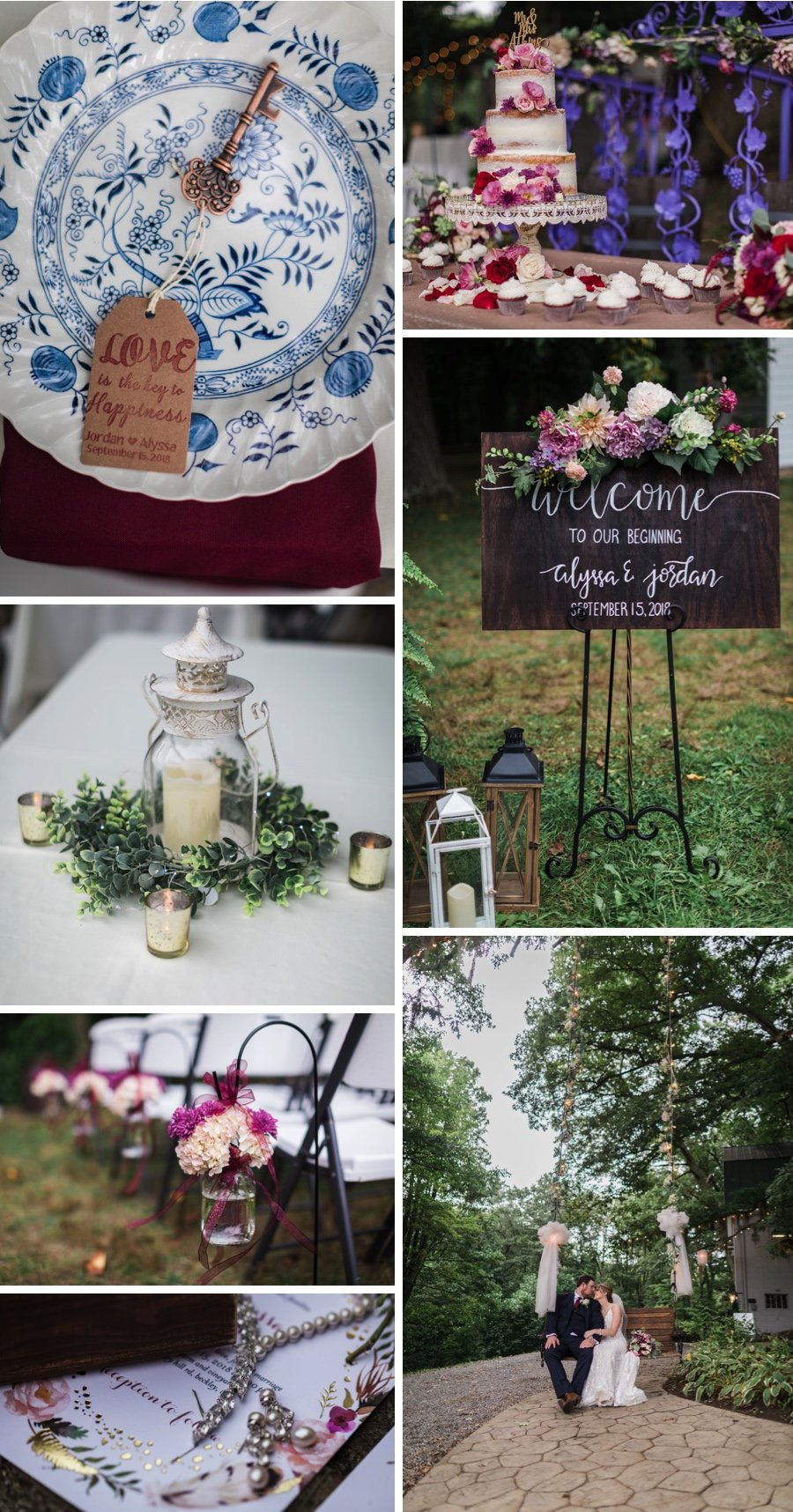 Real wedding: Hurricanes and hens