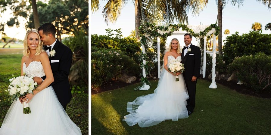 Real wedding: Love in Longboat