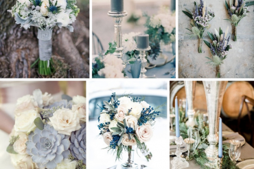 Amazing Winter Wedding Flowers