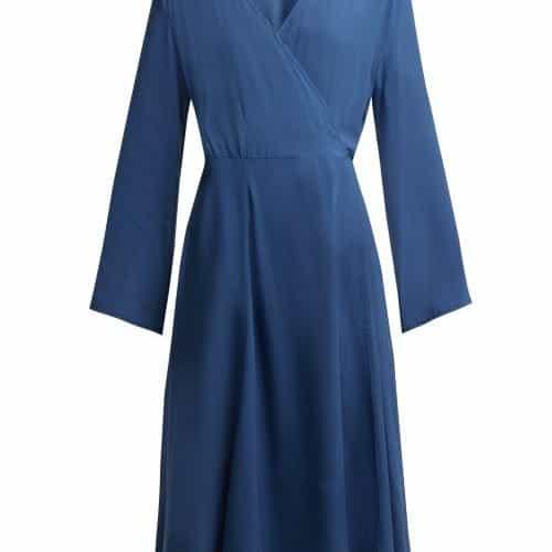 Bower - Bianca Wrap Sun Dress - Womens - Blue