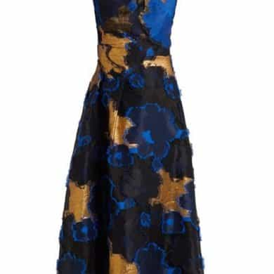 Carl Kapp – Rampling Floral Fil Coupe Dress – Womens – Blue Multi
