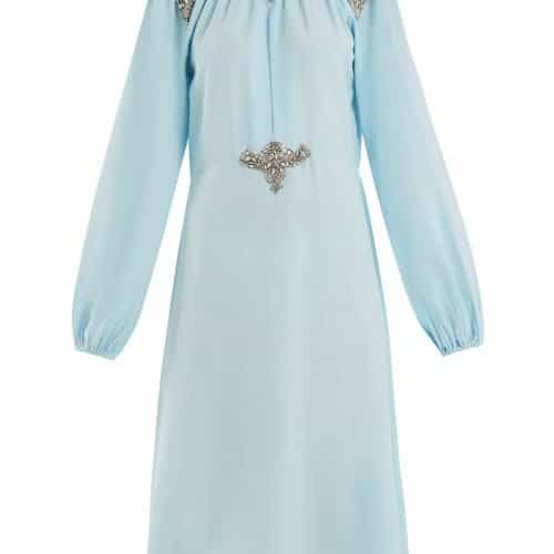 Dodo Bar Or – Marisa Crystal Embellished Dress – Womens – Light Blue