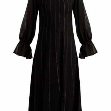 Roksanda – Tovi Striped Knitted Dress – Womens – Black