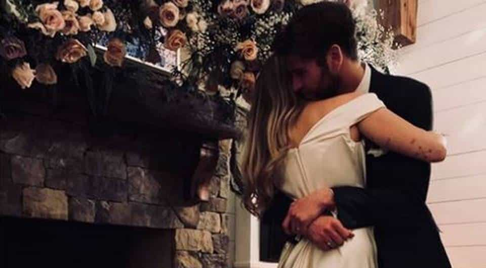 Real wedding: Miley Cyrus & Liam Hemsworth