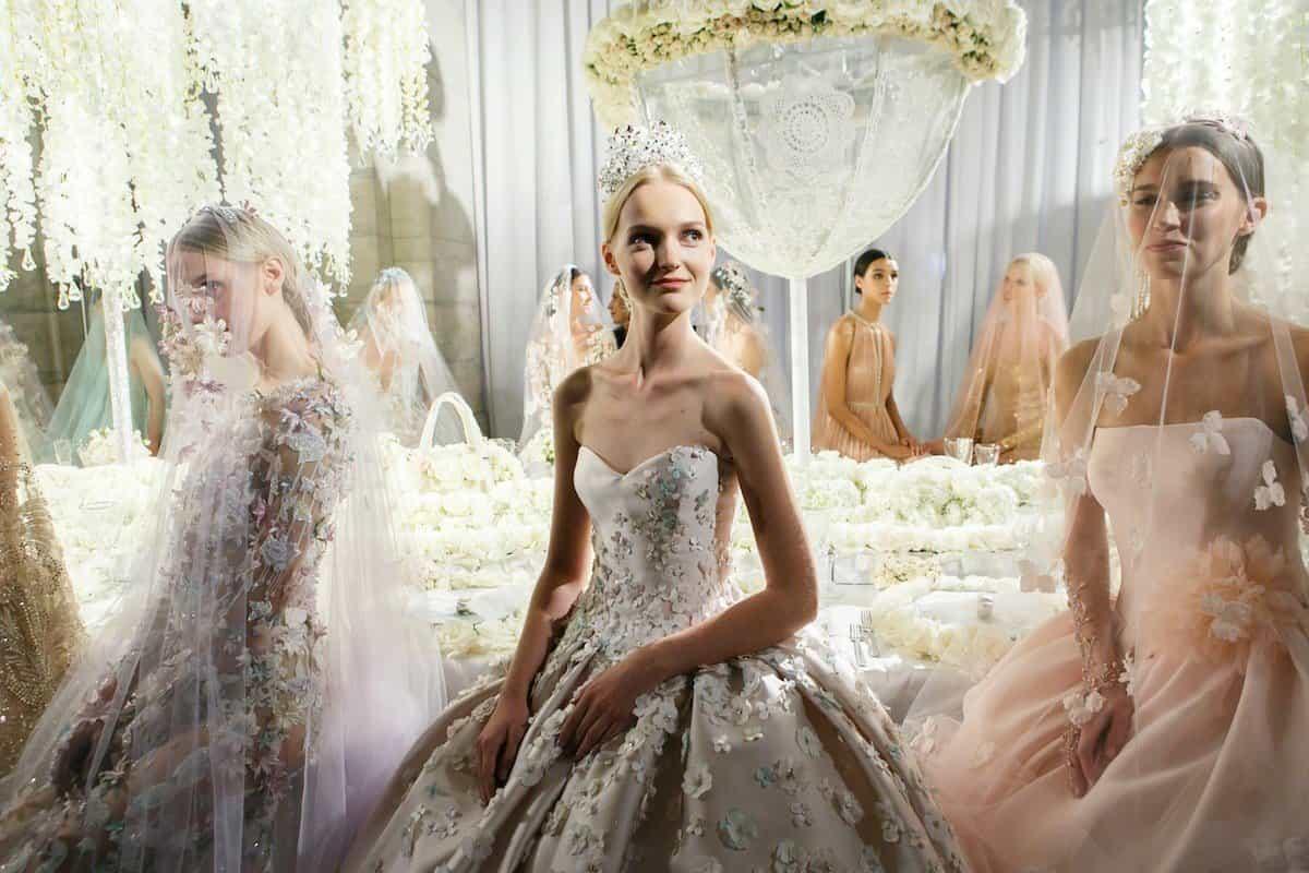 Wedding dress collection: Reem Acra – Celebration