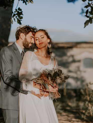 Real wedding: Italian garden wedding