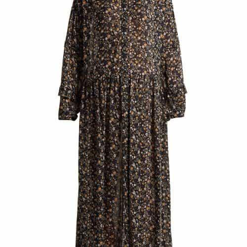 M.i.h Jeans - Edith Botanical Silk Dress - Womens - Multi