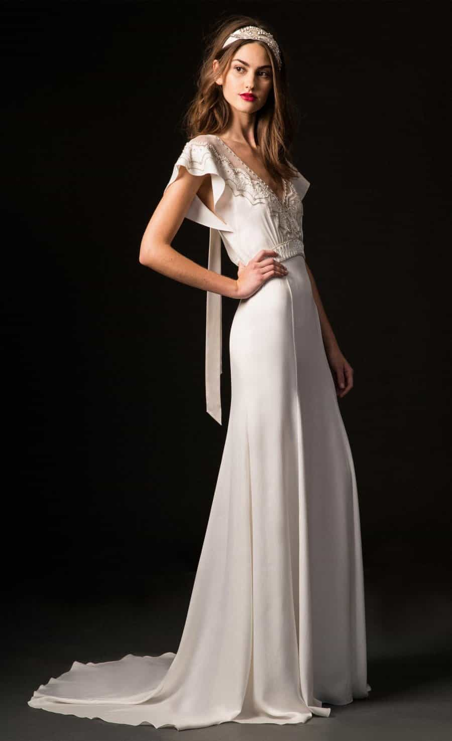 Wedding dress collection: Temperley London Fall 2019