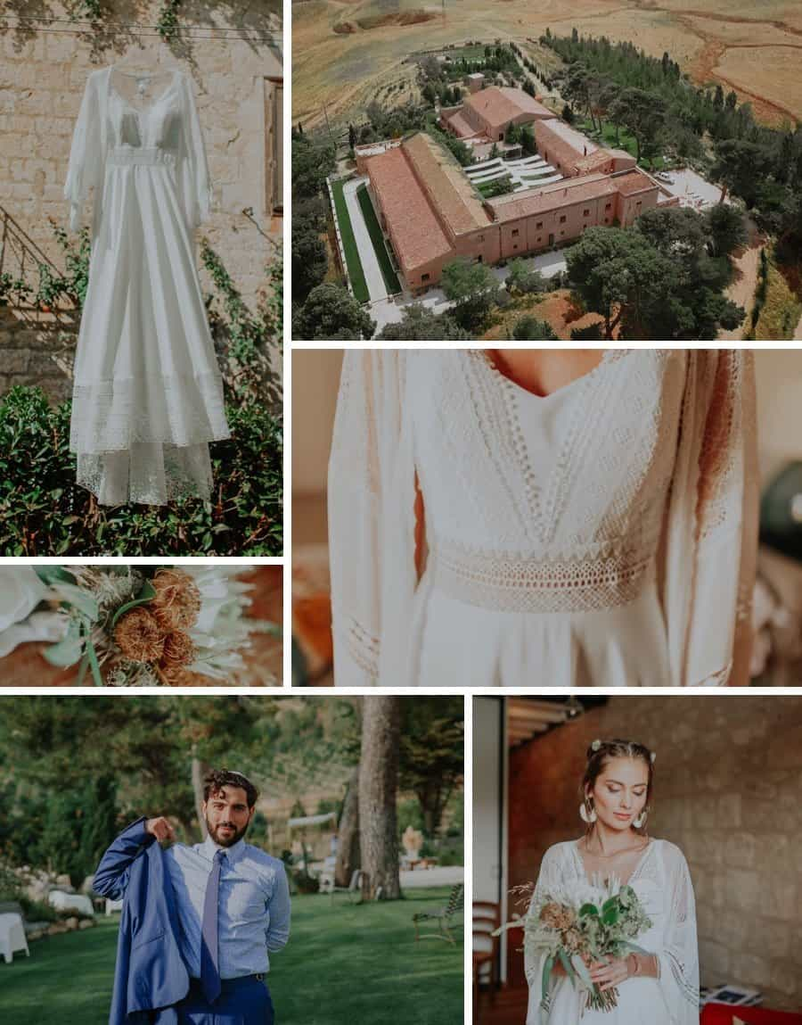 Real wedding: Italian garden wedding