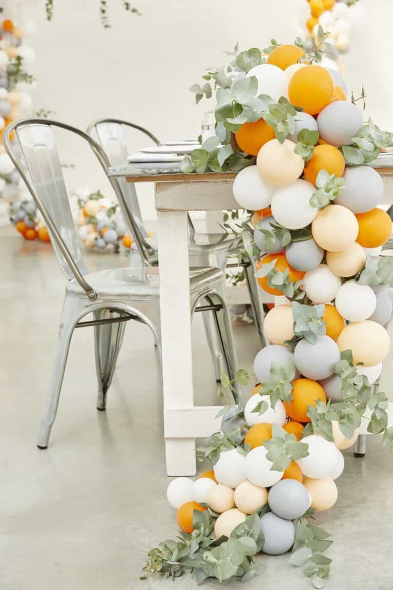Our five favourite ways to display a floral balloon garland