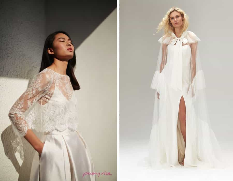 Leading trends in bridal fashion for 2019 from London Bridal Fashion Week