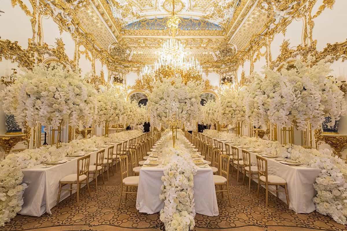 Luxury Wedding Cakes London To Vienna