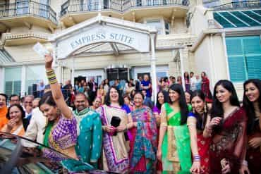 Real Wedding: Vivid and Vibrant at The Grand, Brighton