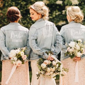Personalised pieces for luxury weddings