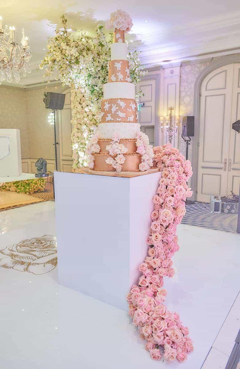 Karen Tran Floral Opulence at The Savoy London - Elizabeth's Cake Emporium