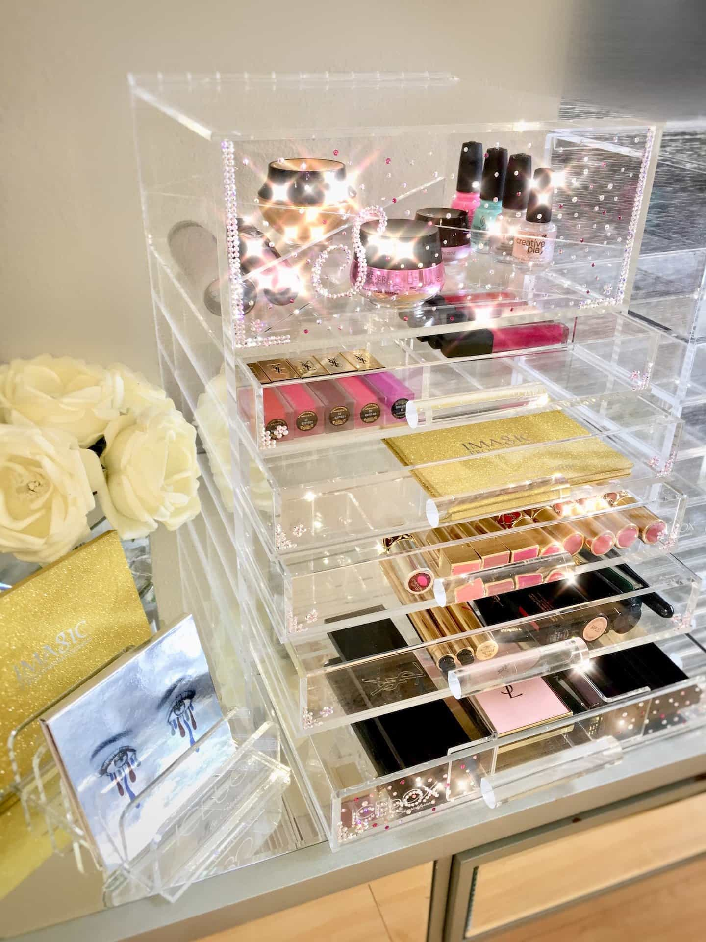 ICEbOX luxury beauty organiser from Sherrieblossom