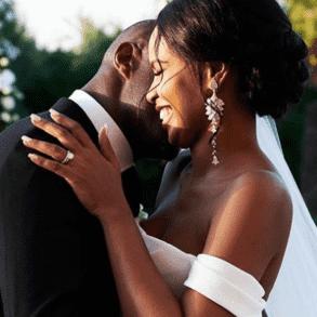 Celebrity wedding: Idris Elba and Sabrina Dhowre