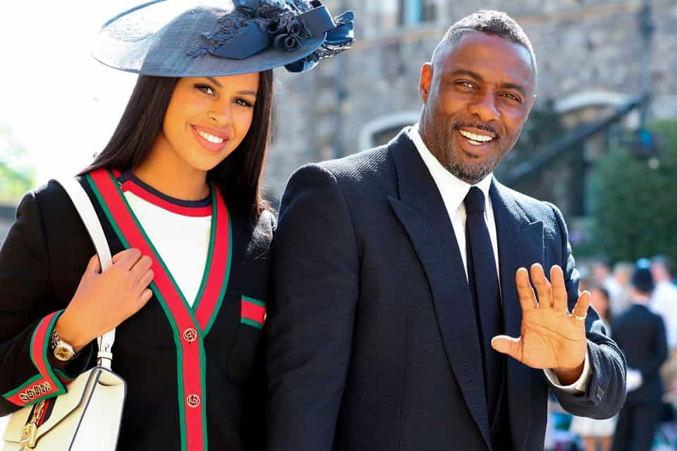 Celebrity wedding: Idris Elba and Sabrina Dhowre