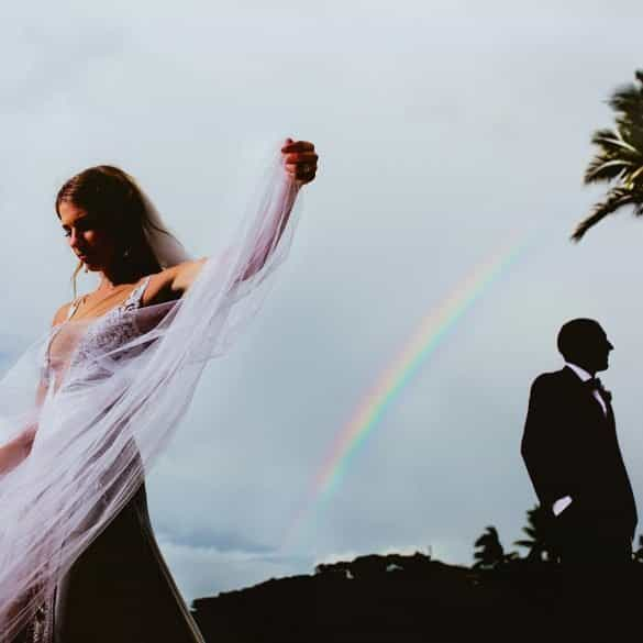 Colourful Couture – coloured wedding dresses
