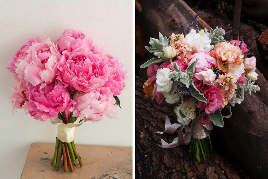 Wedding flowers: Peonies