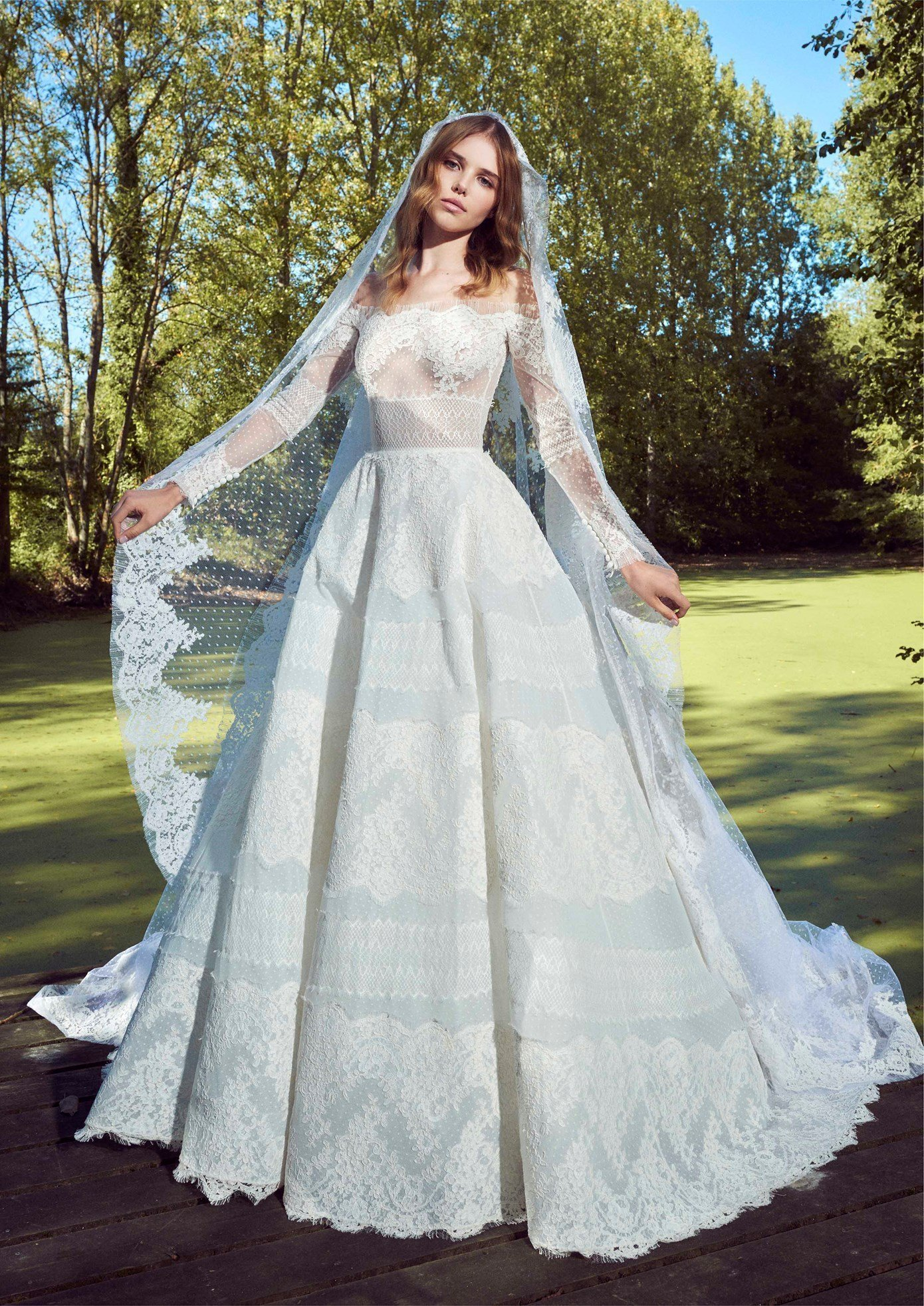 Wedding dress collection: Zuhair Murad – Fall 2019