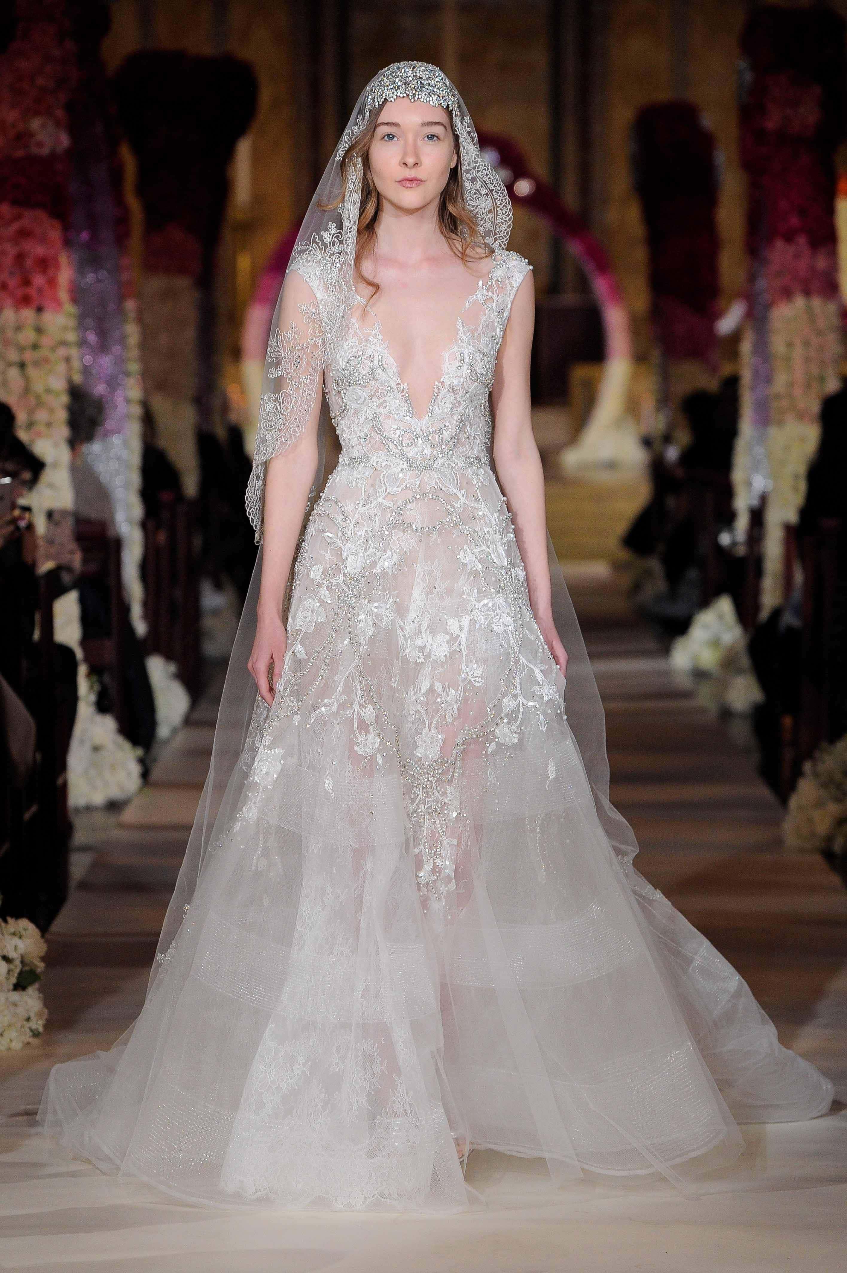 Wedding dress collection: Reem Acra – Thankyou