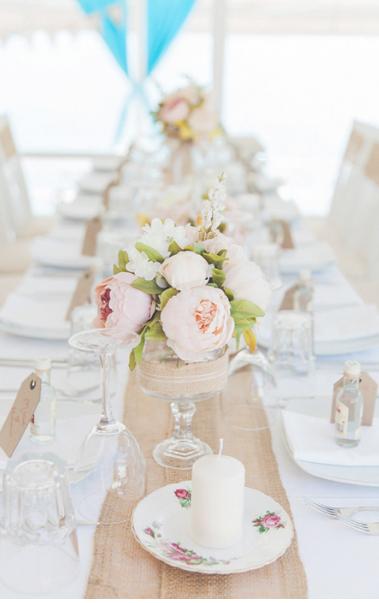 Wedding flowers: Peonies